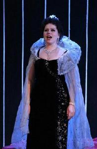 Vigh Ibolya Az Éj királynője szerepében