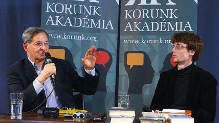 FOTÓ: ROHONYI D. IVÁN– A Kossuth-díjas íróval Balázs Imre József beszélgetett