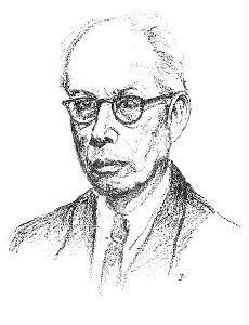 Makkai Sándor (Dr. Imre Lajos grafikája)