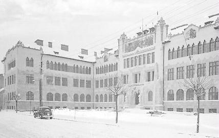 A kolozsvári Honvéd Hadtestparancsnokság épülete
