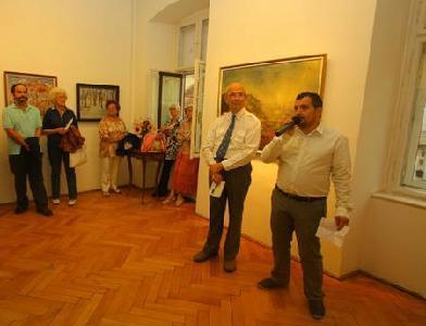 A kiállítást Gaal György és Székely Sebestyén György ajánlotta az érdeklődők figyelmébe - ROHONYI D. IVÁN