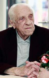 Dr. Árkossy Sándor 95 éves korában (foto: Egri Magazin)