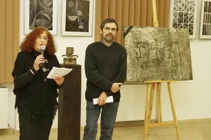 Németh Júlia és Kolozsi Tibor, a BMC ügyvezető elnöke - ROHONYI D. IVÁN