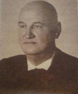 Boga Ödön (sajtófotó 1943. december 14-én)