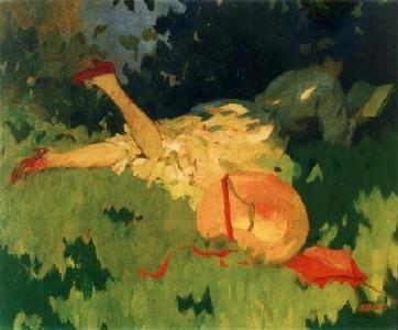 Thorma János: Nyár (1920-as évek)
