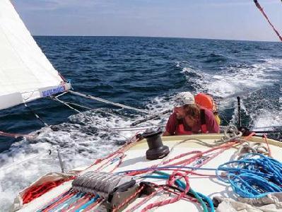 Útra készen Méder és hajója – FOTÓ: WWW.MEDER.HU