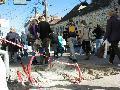 Az Unió (Memorandumului) utcában is a Monostor irányába közlekedő autó- és trolibuszok oldalán van a jegyautomata helye megjelölve