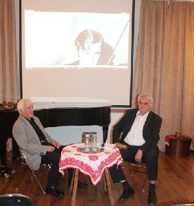 Márkos Alberttel (balról) Simon Gábor beszélgetett – FOTÓ: HORVÁTH LÁSZLÓ
