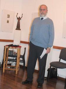 A művész fia, Andrási Bálint is részt vett a megnyitón – HORVÁTH LÁSZLÓ