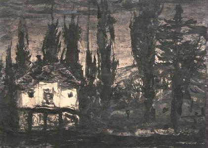 Kusztos Endre: A kisállomás Szovátán, 2009