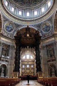Róma, a Szent Péter-bazilika - A SZERZŐ FELVÉTELE