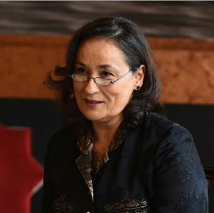 Ráczkevei Anna, a Csokonai Színház igazgatója (Fotó: Máthé András)