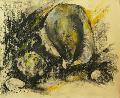 Soó Zöld Margit, Románia, Furcsa kő a parton, 2008, ára 400 euró, pitt