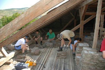 A sárdi munkatáborban lelkesen dolgoztak az önkéntesek