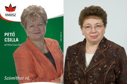 Pető Csilla és Farkas Anna Lili