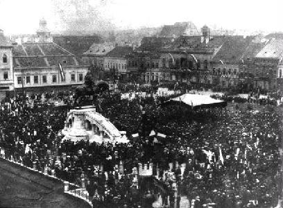 A kolozsvári Mátyás-szobor avatása 1902-ben