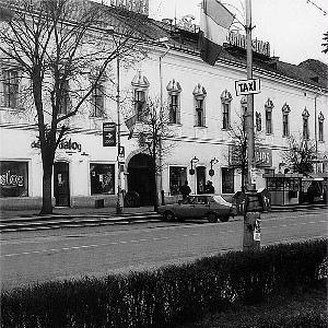 A mostani plébánia déli szárnya (a főbejárattól balra) volt az egykori kolozsvári bíró háza – ROHONYI D.IVÁN