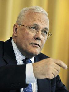 Balázs Péter új magyar külügyminiszter első sajtóértekezletét tartotta tegnap