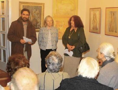 FOTÓ: ROHONYI D. IVÁN– Gally A. Katalin (középen), Kolozsi Tibor és Németh Júlia társaságában