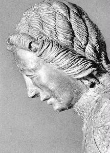Az eredeti Szent György feje (Prágai Nemzeti Múzeum)
