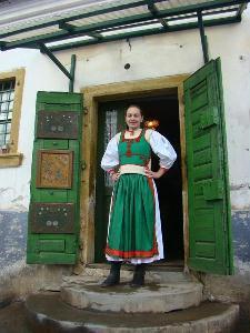 Bánó Orsolyán igazán jól mutat a viselet – A SZERZŐ FELVÉTELE