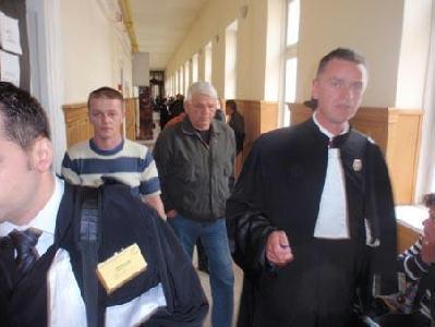 A tettes (hátul, középen), Cernean Toader végig azt állította, Noémi nem a gyalogátkelőn ment át – TUDOR RĂVOIU