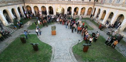Ismét benépesül a Bánffy-palota udvara – ROHONYI D. IVÁN/ARCHÍV